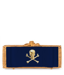 Colette Tan - Navy & Skull - TEMPORARILY SOLD OUT