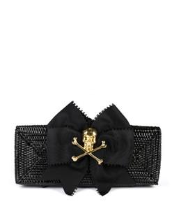 Colette Black - Picot Ribbon & Skull