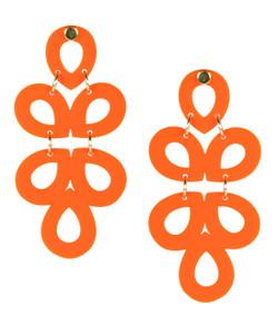 Ginger - Acrylic - Orange