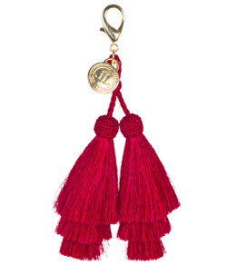 Horsehair Tassel - Double - Red