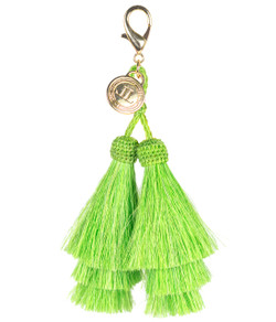 Horsehair Tassel - Double - Green