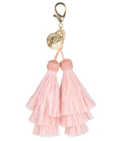 Horsehair Tassel - Double - Light Pink