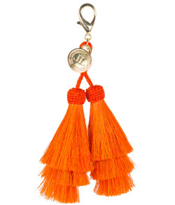 Horsehair Tassel - Double - Orange