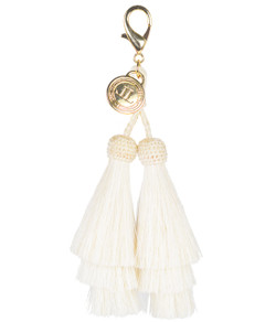 Horsehair Tassel - Double - Cream