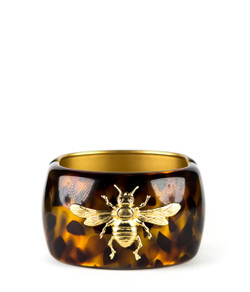 Large Cuff - Tortoise - Bee
