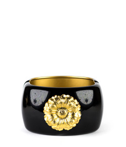 Large Cuff - Black - Blossom