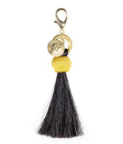 Horsehair Tassel - Gold Bauble - Black