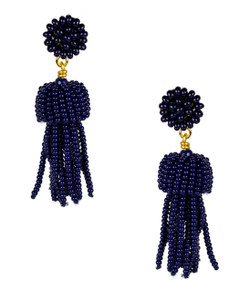 Mini Tassel - Navy