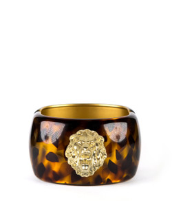 Large Cuff - Tortoise - Lion