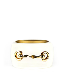 Large Cuff - Cream - Snaffle