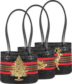 Charlotte Medium - Holiday Plaid Band
