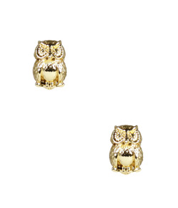 Owls - Small - Gold