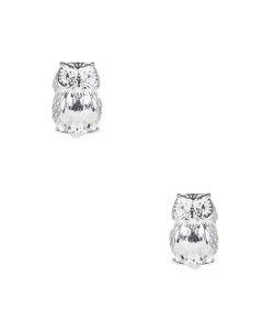 Owls - Small - Silver