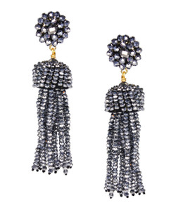 Tassel Earrings - Disco
