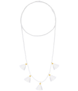 Lola Necklace - White