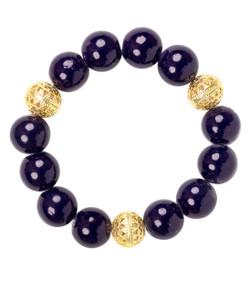 Beaded Bracelet - Navy