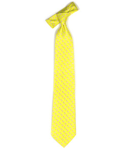 Tie - Yellow Flamingo