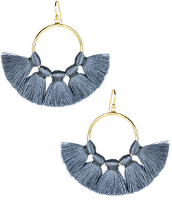 Izzy Gameday Earrings - Slate