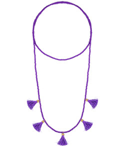 Lola Necklace - Grape