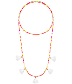 Lola Necklace - Ear Candy & White