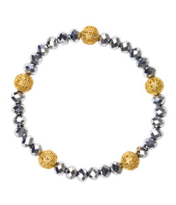 Riley Bracelet - Disco & Gold