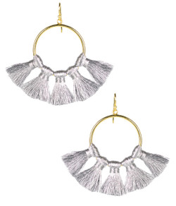 Izzy Gameday Earrings - Silver