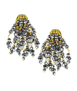 Firecracker Earrings - Disco & Gold