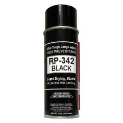 Cosmoline RP-342 BLACK Military-Grade Aerosol Spray Rust Preventive - Single Can