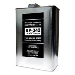 "BULK: RP-342 ""BLACK"" Rust Preventive Spray - 1 Gallon can"