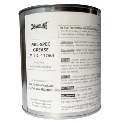 Cosmoline Grease Mil-Spec 11796C, Grade 3
