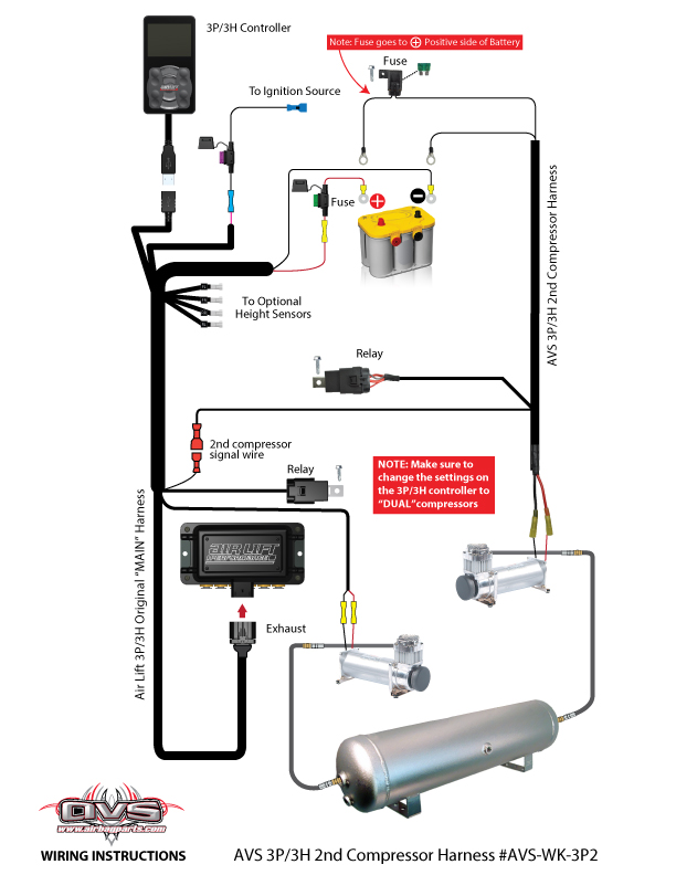 second compressor wiring harness for 3p system avs hydraulic lift gate wiring-diagram find similar products by category