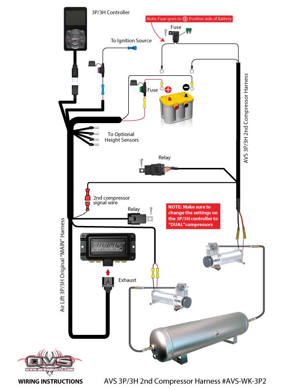 second compressor wiring harness for 3p system avs rh avsontheweb com ez wiring harness instructions.pdf mictuning wiring harness instructions