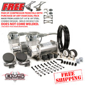 VIAIR #380C PEWTER COMPRESSOR COMBO W/ FREE SHIPPING