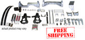 "2001-06 GM SUV 1/2 Ton (4WD, NOT Auto Leveling) 7"" Lift Kit (silver powder coat) W/ FREE SHIPPING*"