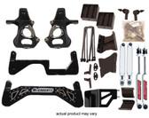 "2015 SUV (2WD) ** NO AUTO LEVELING SHOCKS **, w/ rear shock extenders use OEM shocks (1/2 ton GM) 7"" Lift Kit (BLACK SS KIT)"