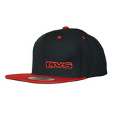 AVS SNAP BACK BLACK WITH RED BRIM