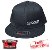 AVS BLACK CAP WITH FLAT BILL