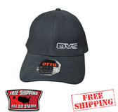 AVS BLACK CAP WITH CURVED BILL