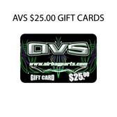AVS 25.00 GIFT CARD