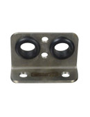 AVS STAINLESS STEEL 2 HOLE AIRLINE BRACKET  FOR SLAM AV8C MANIFOLD VALVE