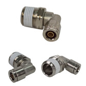 """D.O.T. 3/8"""" x 1/2"""" PUSH CONNECT MALE SWIVEL ELBOW"""
