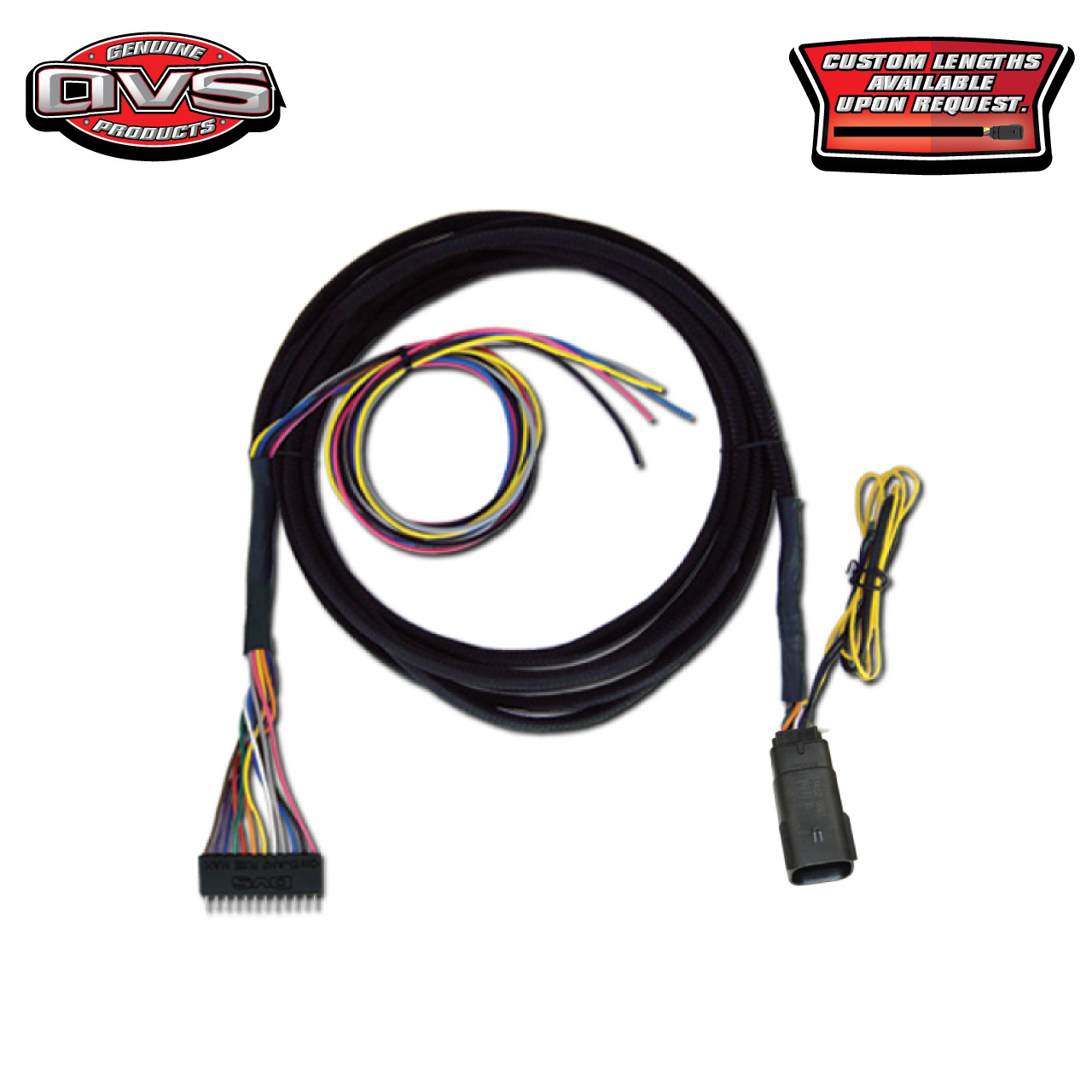 AVS VALVE WIRING HARNESS 10\', 15\', 20\' - ACCUAIR VX4 VALVE TO AVS 9 ...