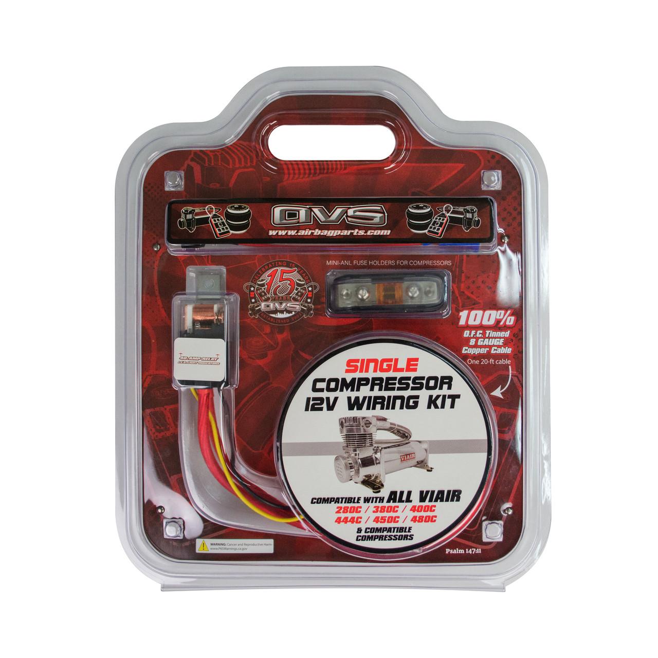 Single Compressor Wiring Kit By Avs Viair 480c Diagram Loading Zoom