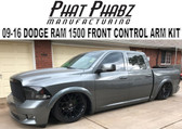 2009-2016 DODGE RAM FRONT KIT by PHAT PHABZ