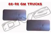 88-98 CHEVY/GMC TRUCK DOOR HANDLE FILLER PLATES (PAIR)