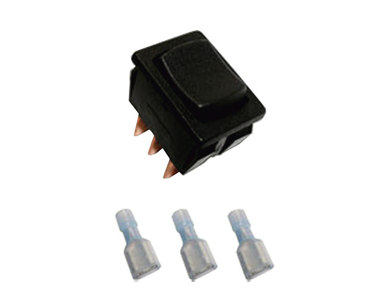 Momentary On Off On Rocker Switch 3 Prong