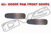 02-08 DODGE RAM DOOR HANDLE FILLER PLATES (FRONT DOORS)