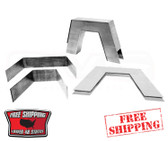 99-06 8-PIECE STEP NOTCH KIT FORMED TO MATCH CONTOURS IN FRAME RAILS