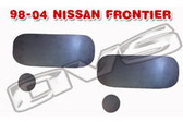 98-04 NISSAN FRONTIER DOOR HANDLE FILLER PLATES