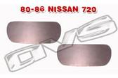80-86 NISSAN 720 DOOR HANDLE FILLER PLATES (PAIR)